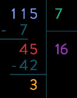 division euclidienne mathématiques sixième