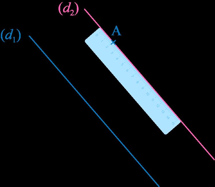tracer une droite parallèle