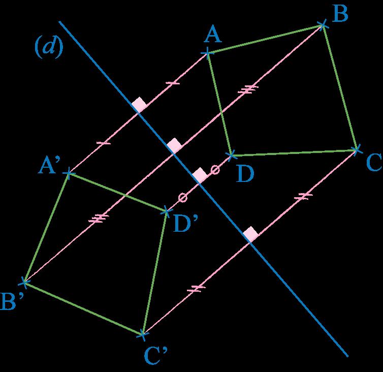 Symétrique d'une figure polygonale