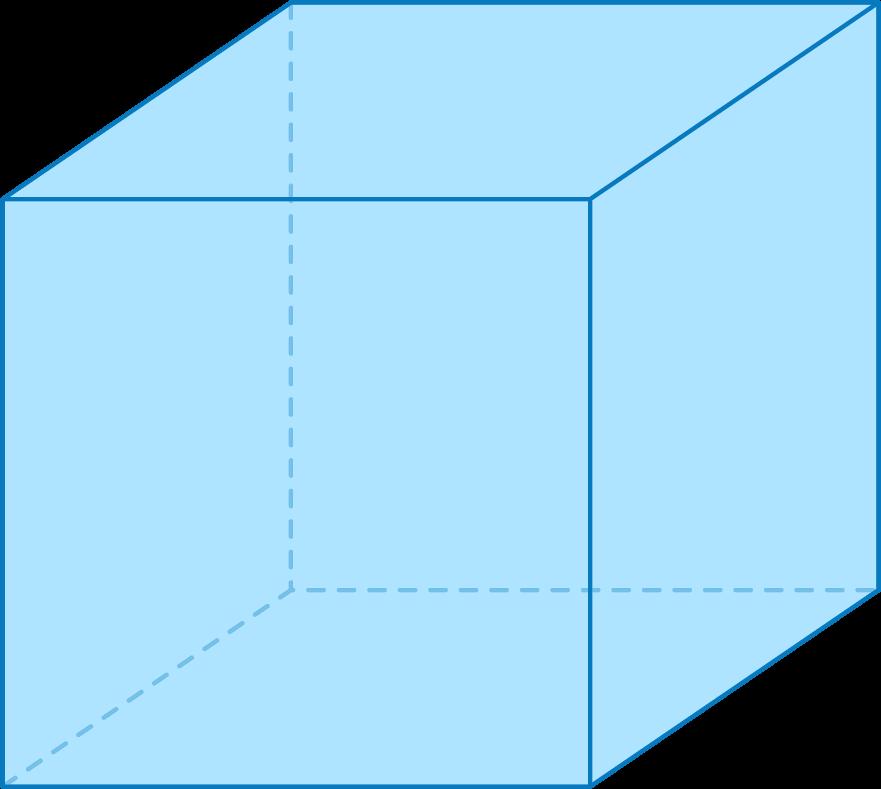 cube parallélépipède rectangle