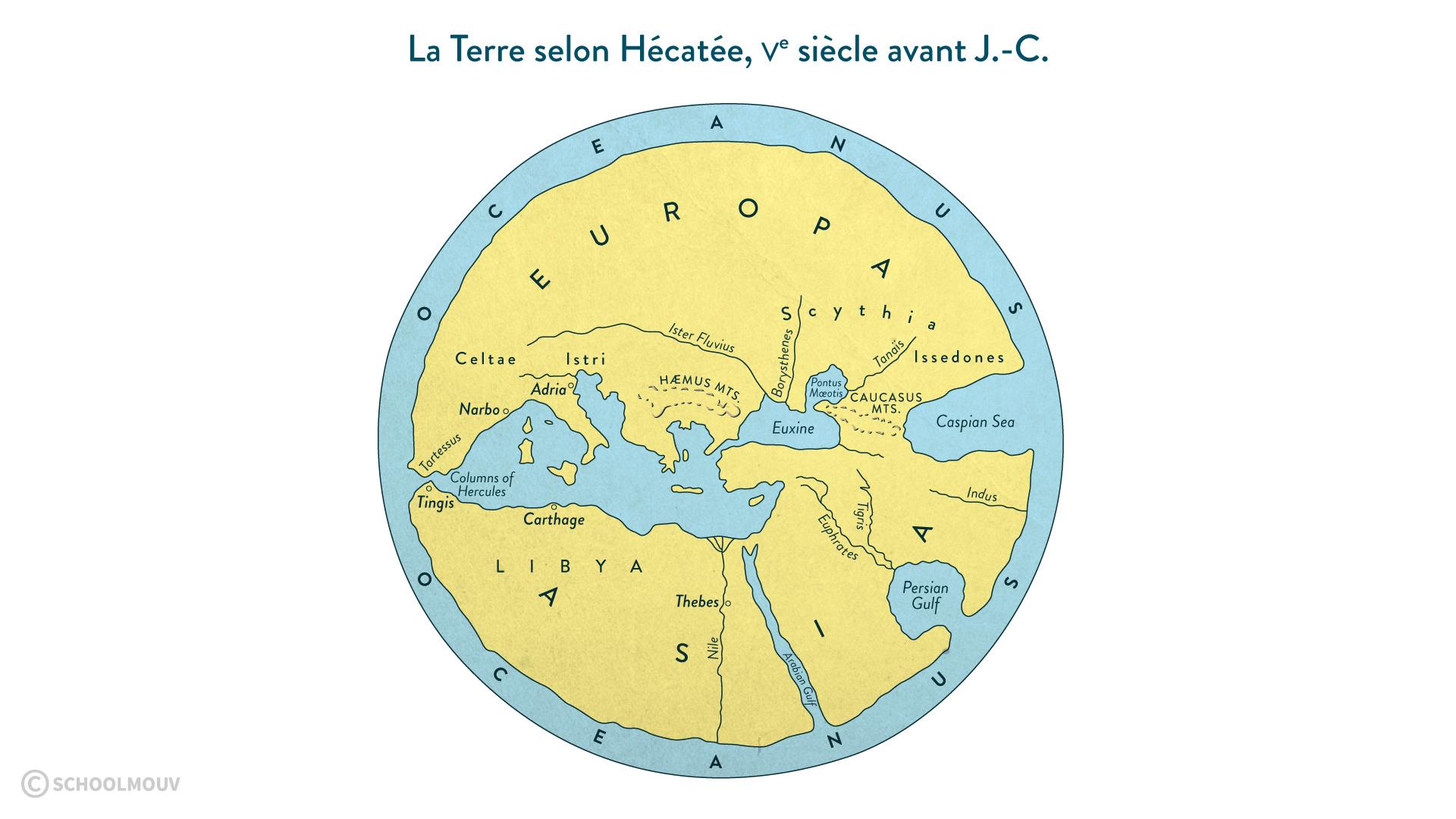 Le monde d'Hécatée-svt-6e-schoolmouv