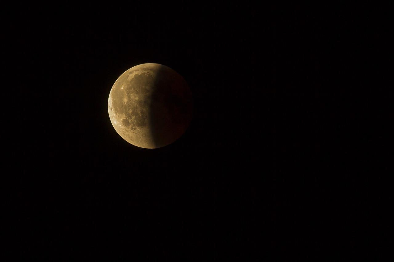 Une éclipse de Lune