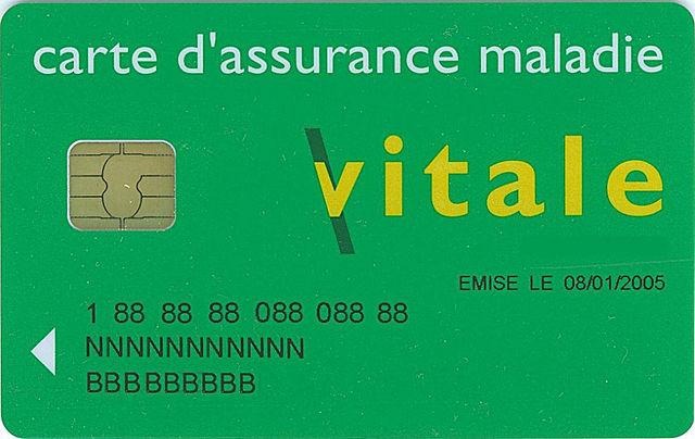 EMC Carte vitale France