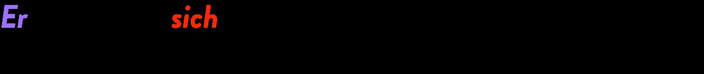allemand verbes pronominaux