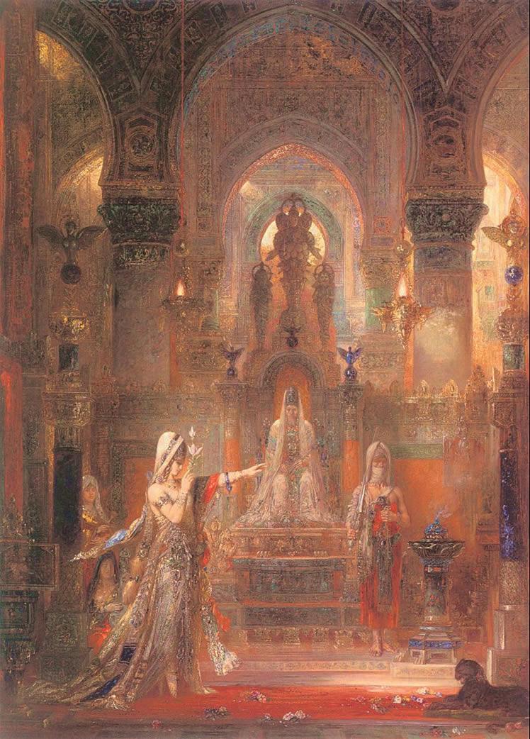 Alt Salomé dansant devant Hérode - Gustave Moreau