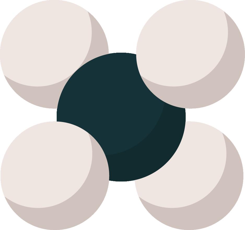 molécule méthane