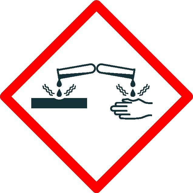 pictogramme produit corrosif