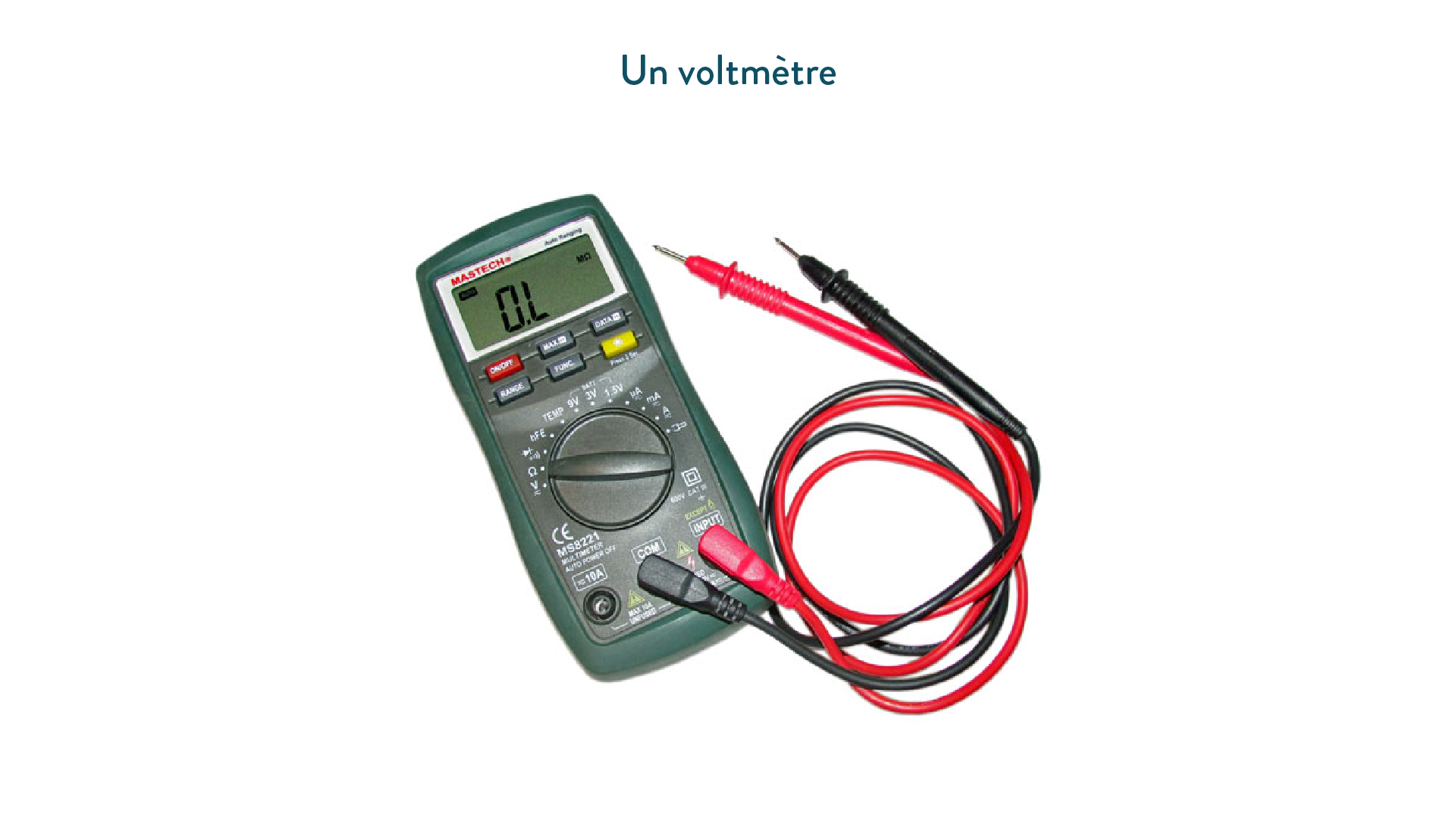 Un voltmètre