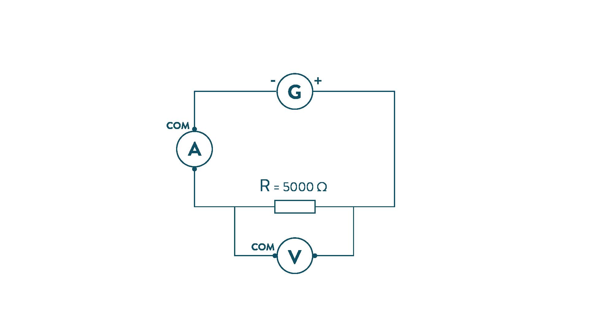 exemple d'un circuit avec résistance