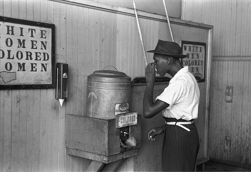 noir américain robinet réservé population noire ségrégation USA