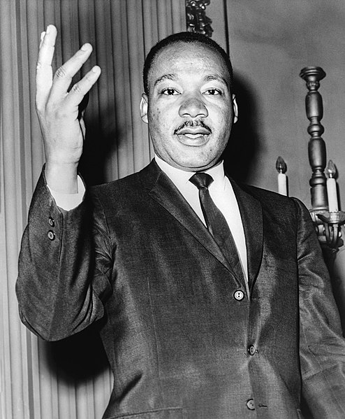 Martin Luther King Jr. lutte ségrégation