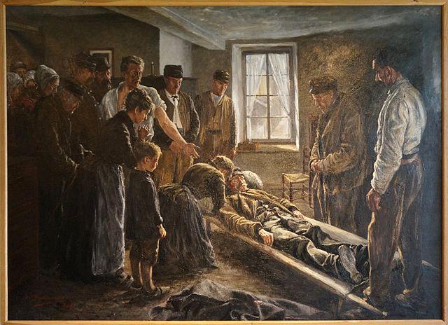 Un accident du travail au XIX<sup>e</sup>&nbsp;siècle, 1863