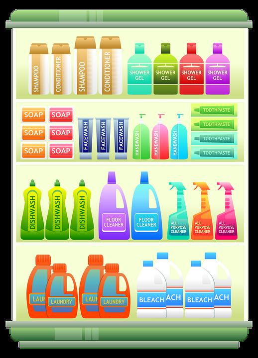 Les produits ménagers peuvent être toxiques