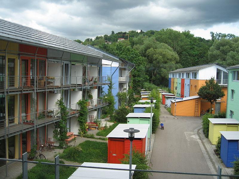 Un exemple d'habitat participatif à Fribourg-en-Brisgau, en Allemagne