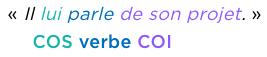 grammaire français complément d'objet second COS