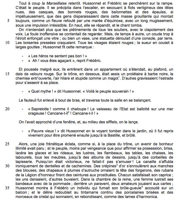 Alt Gustave Flaubert, <em>L'Éducation sentimentale</em>, troisième partie, I, 1869