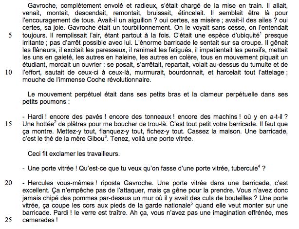 Alt Victor Hugo, <em>Les Misérables</em>, quatrième partie, livre12