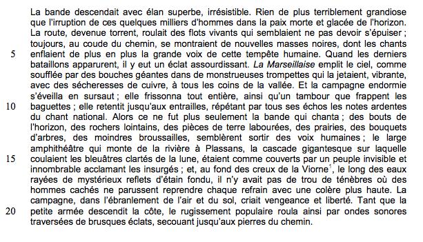 Alt Émile Zola, <em>La Fortune des Rougon</em>, chapitreI, 1871
