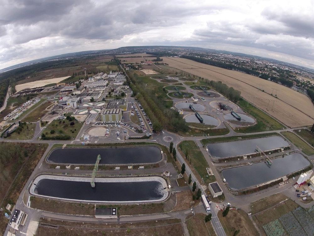 Le recyclage des eaux usées : une station d'épuration