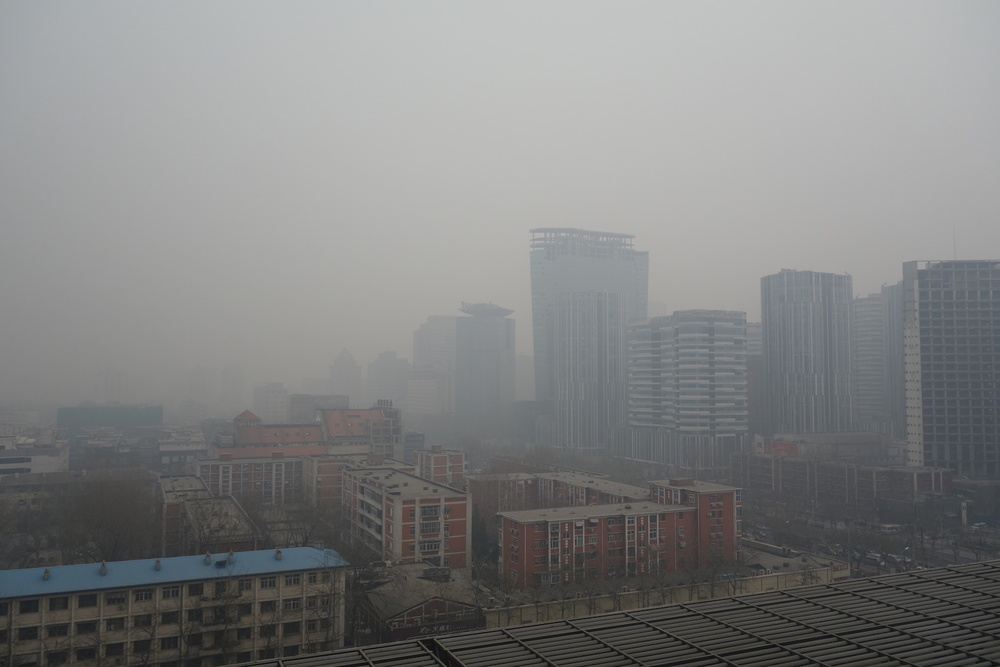 La pollution atmosphérique en Chine