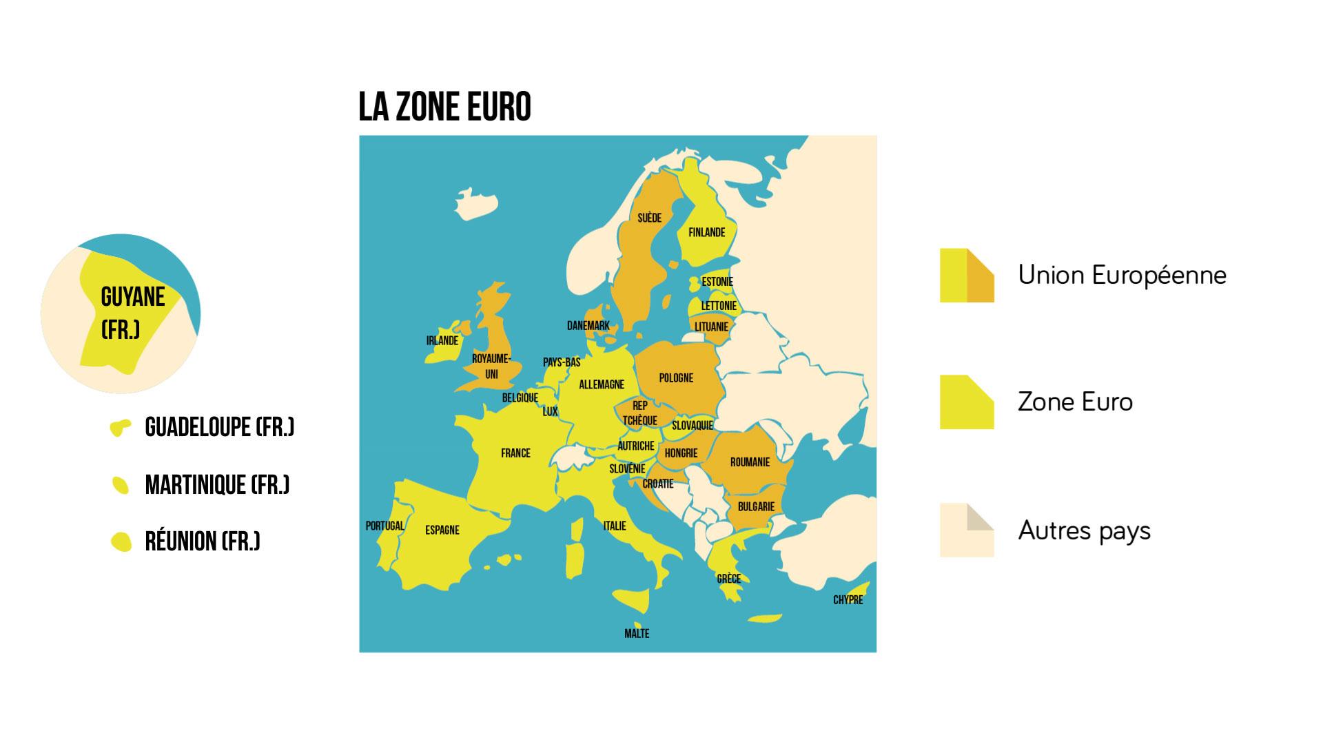 La Zone Euro - géographie 3e
