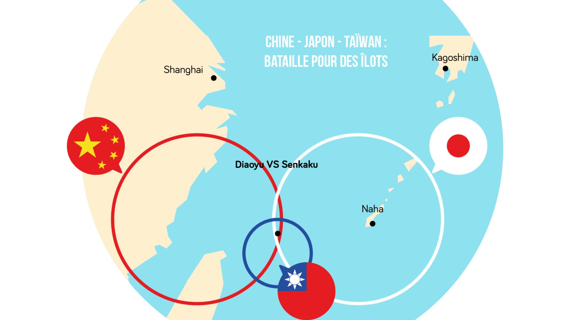 Géographie terminale L'archipel des îles Senkaku