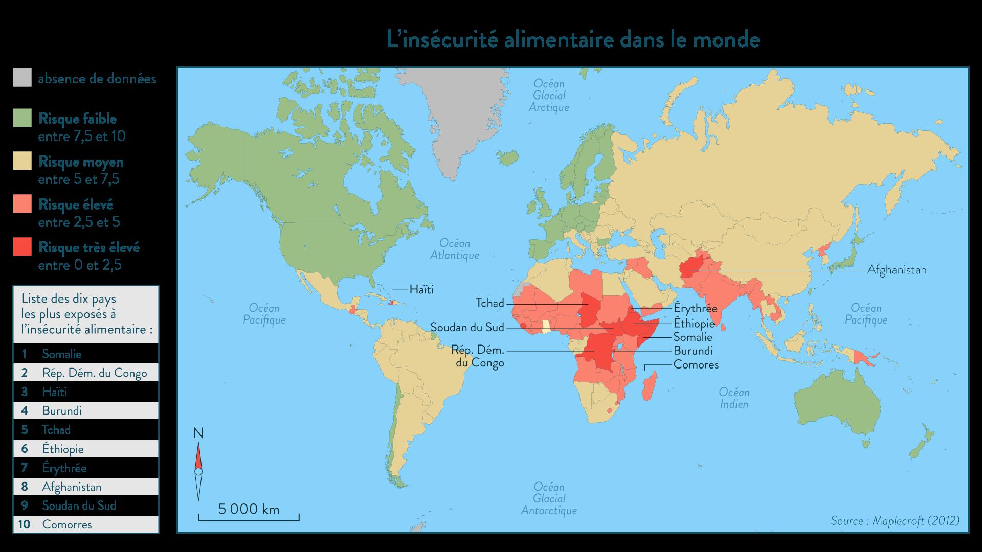 L'insécurité alimentaire dans le monde