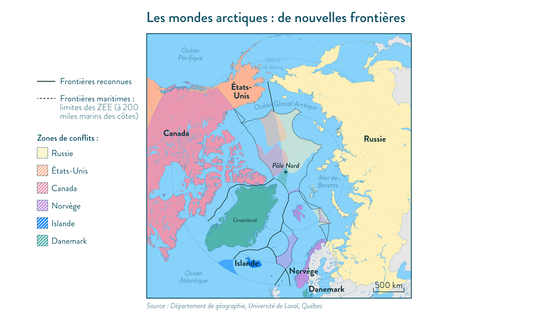 Les mondes arctiques : de nouvelles frontières