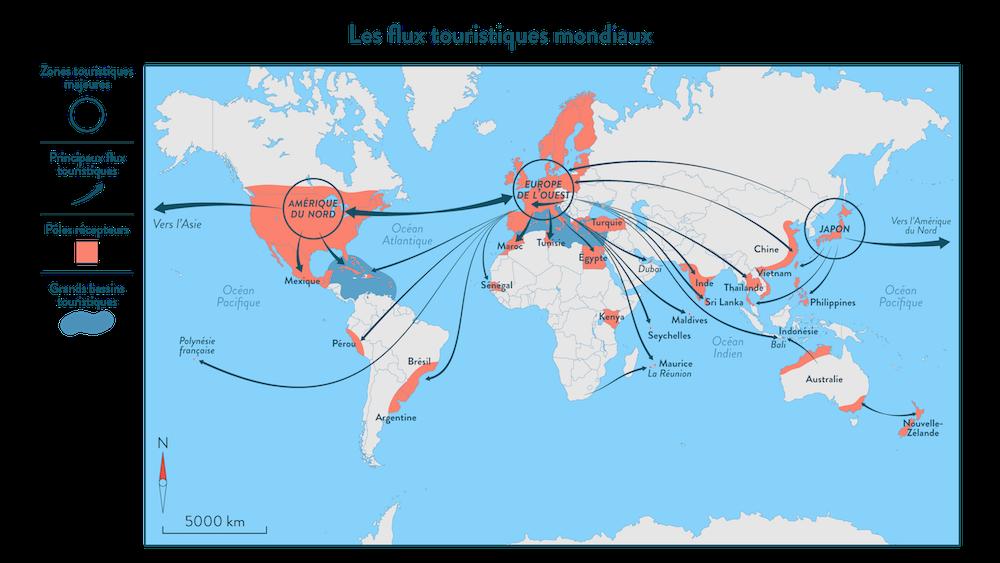 Les flux touristiques mondiaux