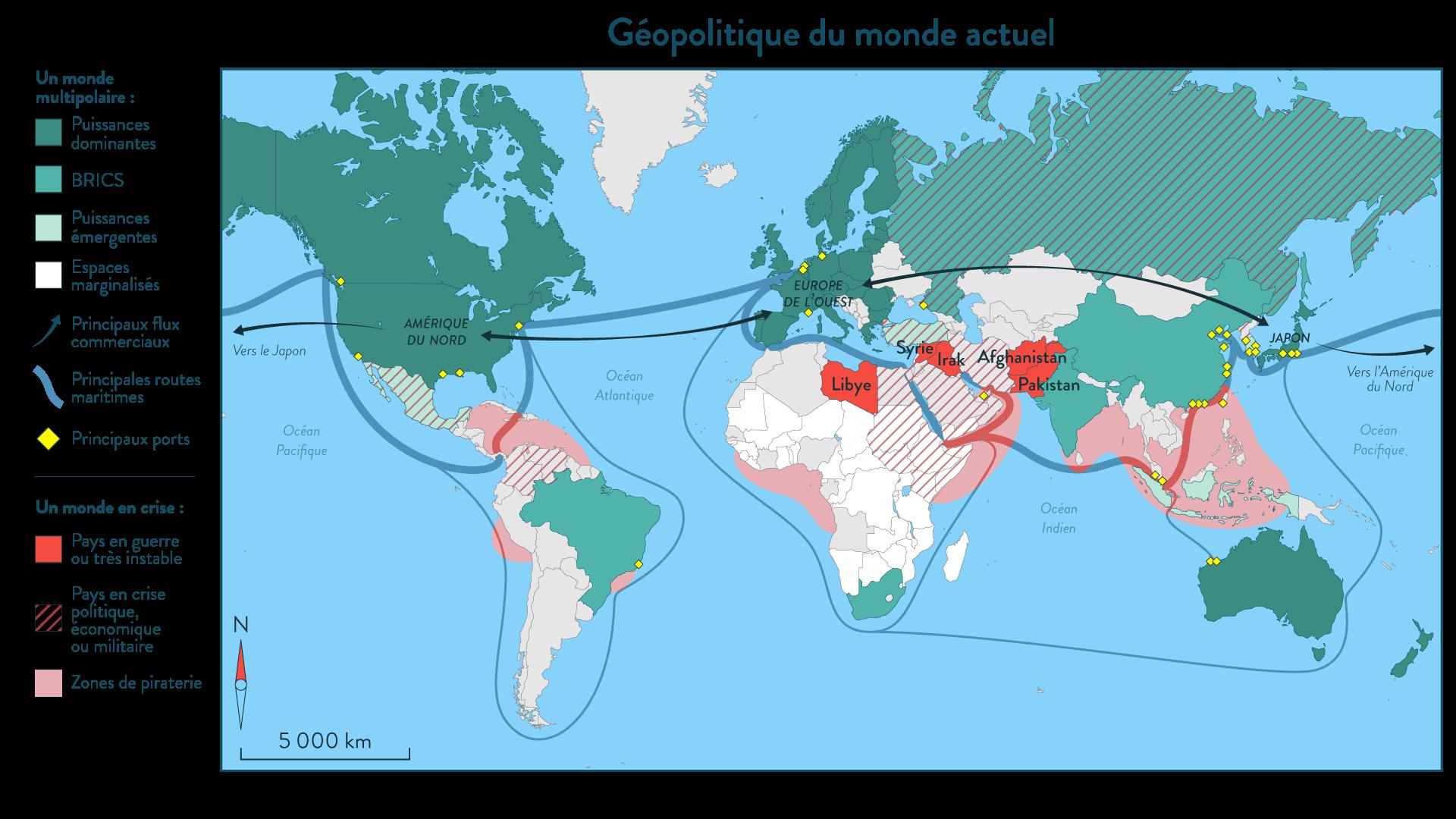 Géopolitique du monde actuel