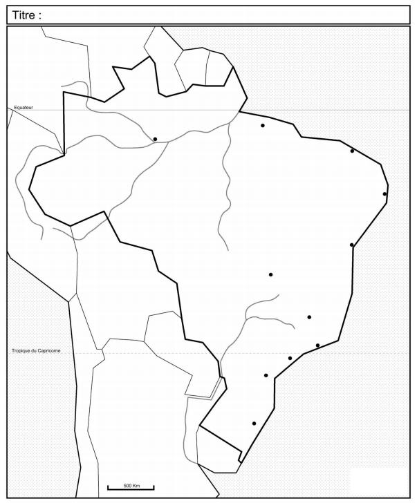 Les dynamiques territoriales du Brésil.
