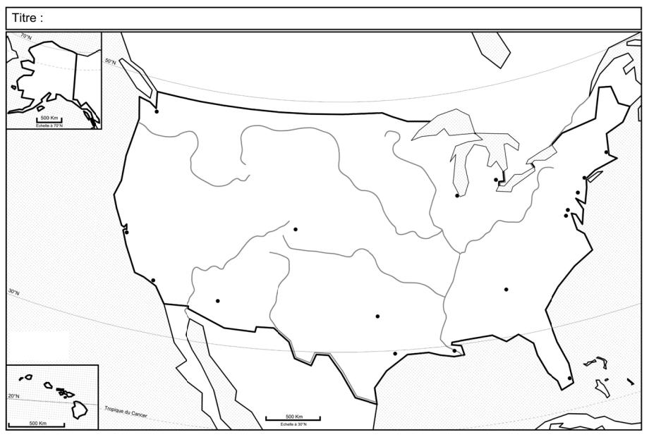 Les dynamiques territoriales des États-Unis