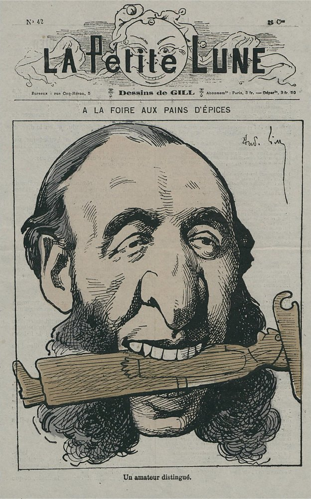 Caricature de Jules Ferry