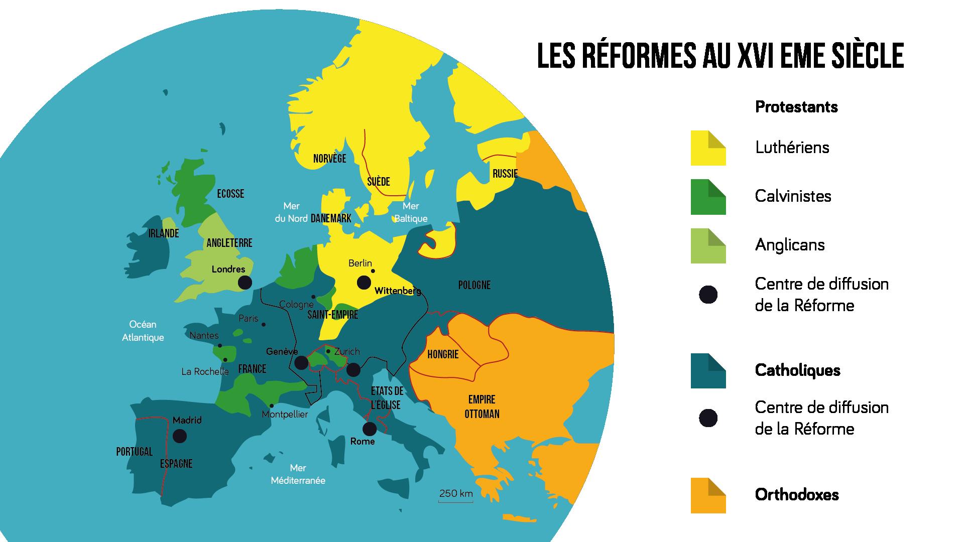 Diffusion du protestantisme en Europe