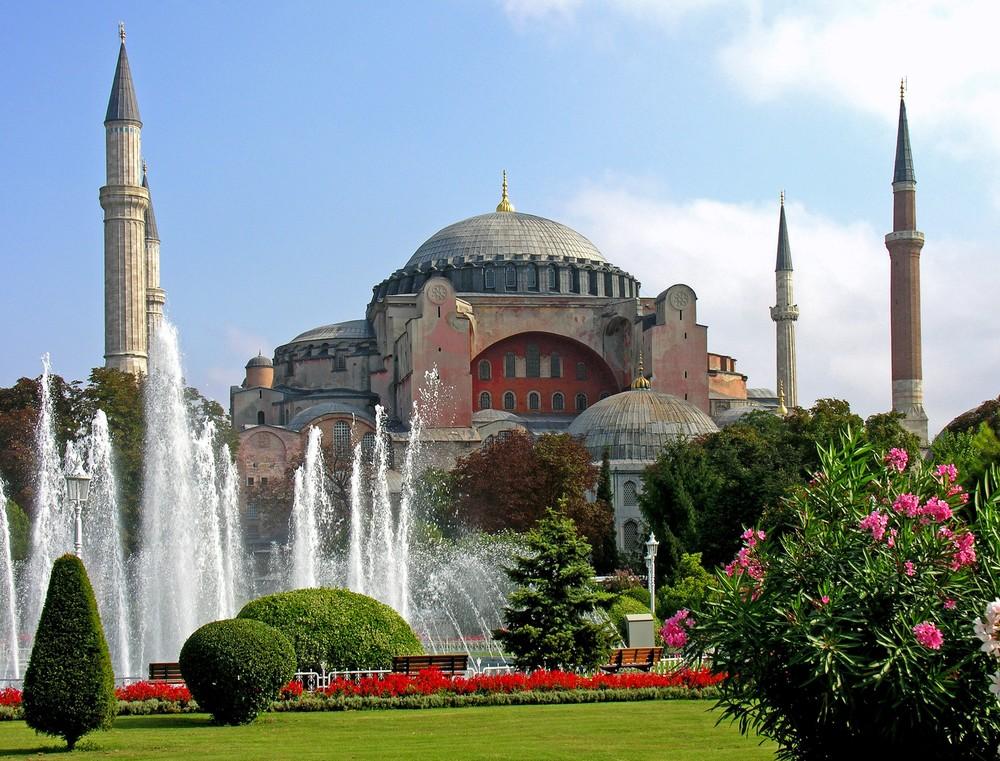 Basilique Sainte-Sophie, Istanbul