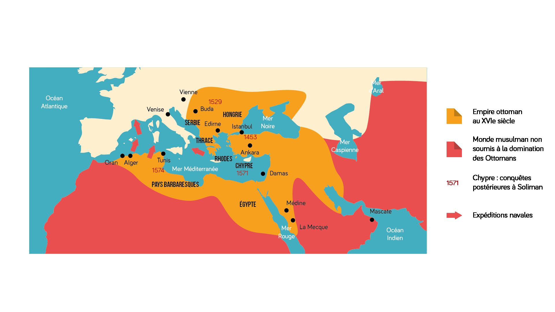 L'empire ottoman au XVI<sup>e</sup>&nbsp;siècle