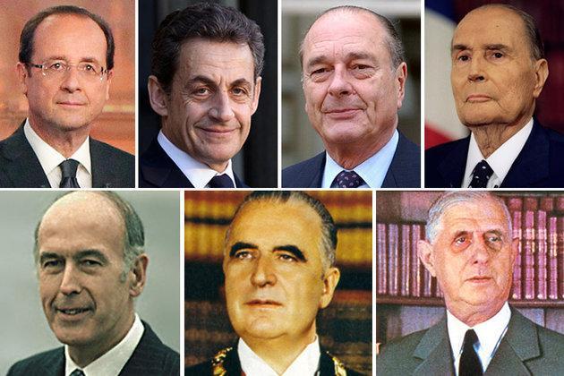 Les présidents de la V<sup>e</sup>République