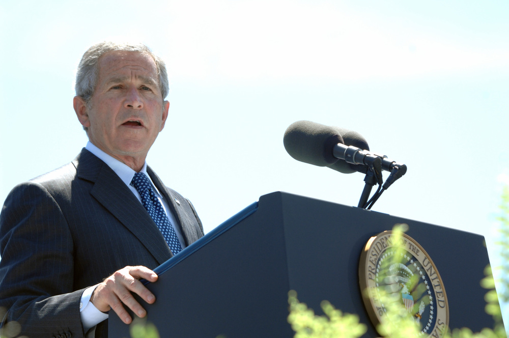 Photo du président W.Bush