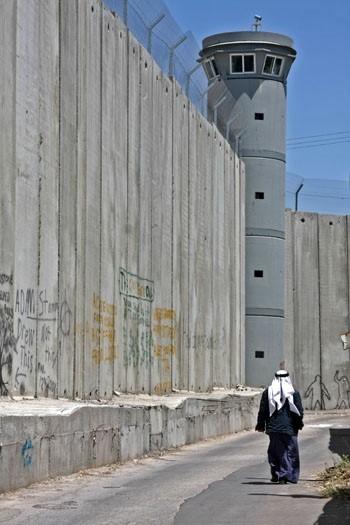 Mur de séparation entre l