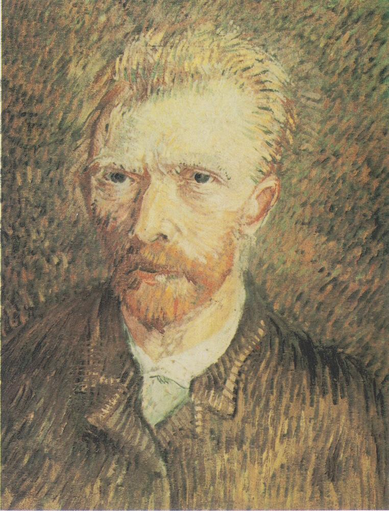 Vincent Van Gogh, Autoportrait, 1887-1888