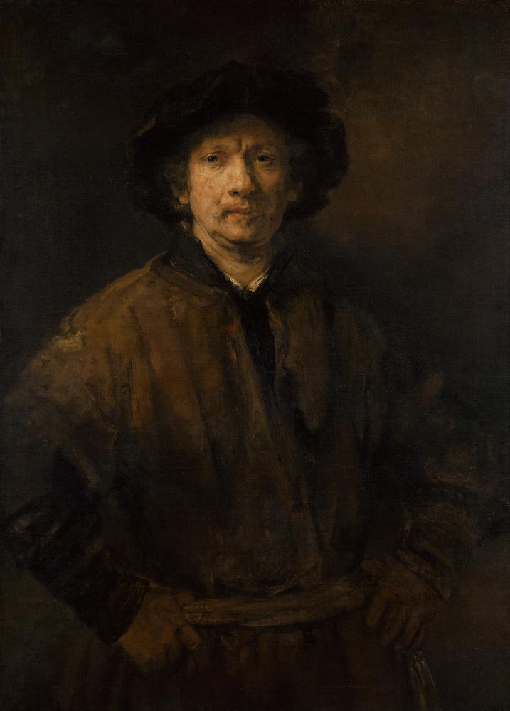 Rembrandt, Autoportrait en paysan, 1652