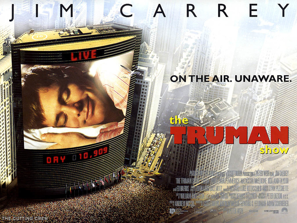 Affiche du film The Truman show de Peter Weir