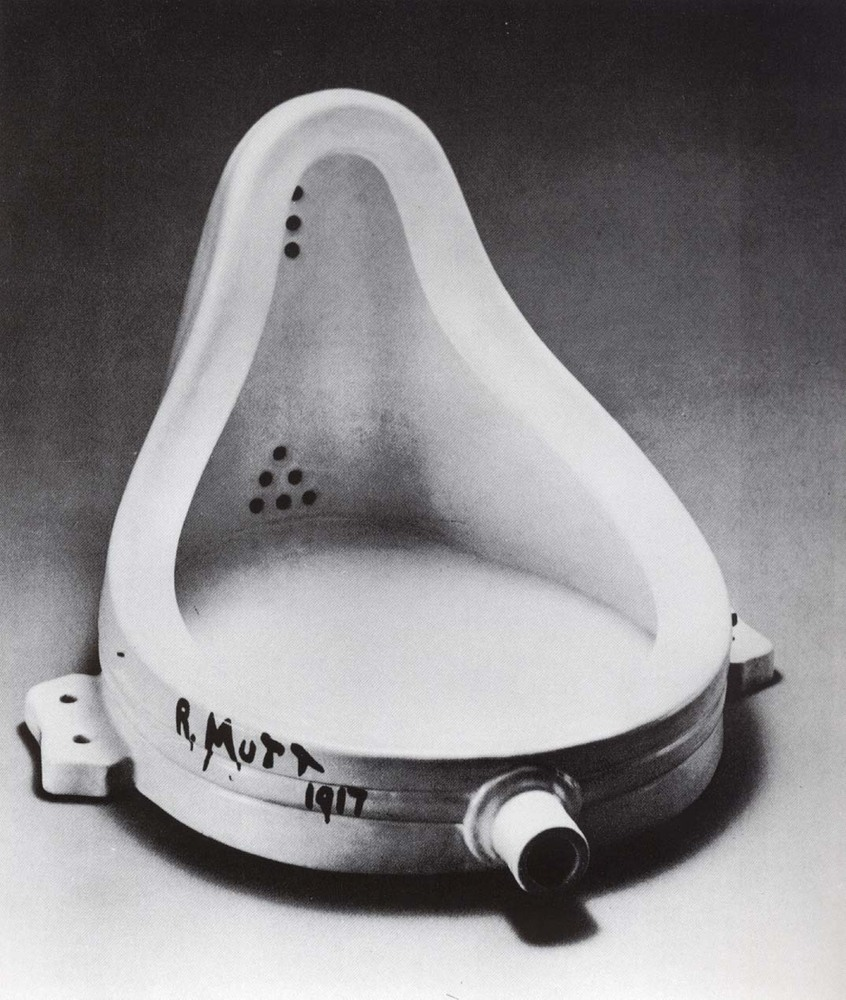 Marcel Duchamp, Fontaine, 1917