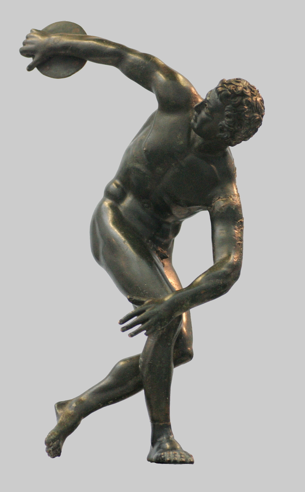 Myron, Discobole, statue en bronze, Ve siècle av. J.-C.
