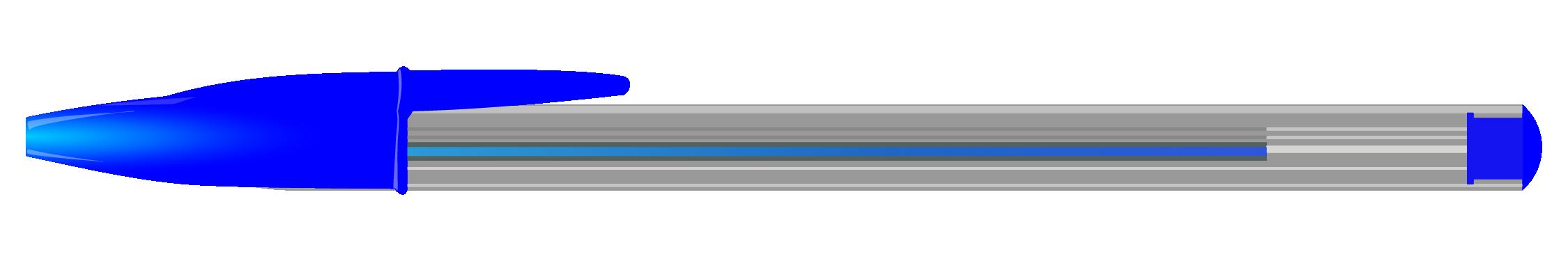 Stylo bleu