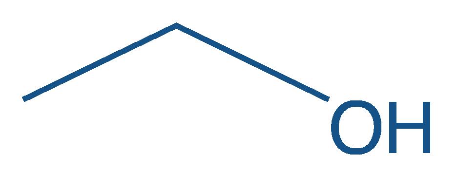 Représentation topologique de l'éthanol