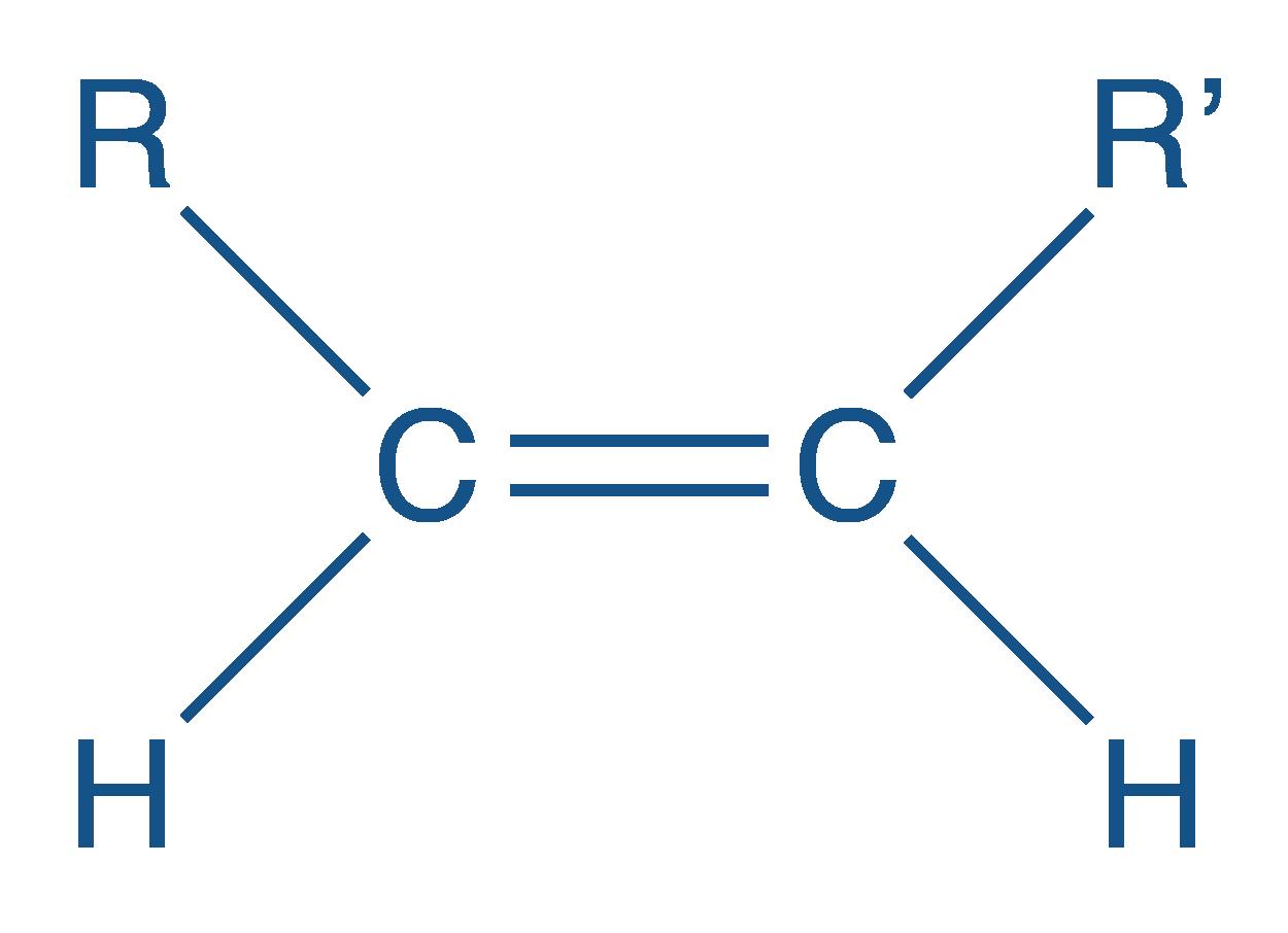 Formule semi-développée d'un isomère Z