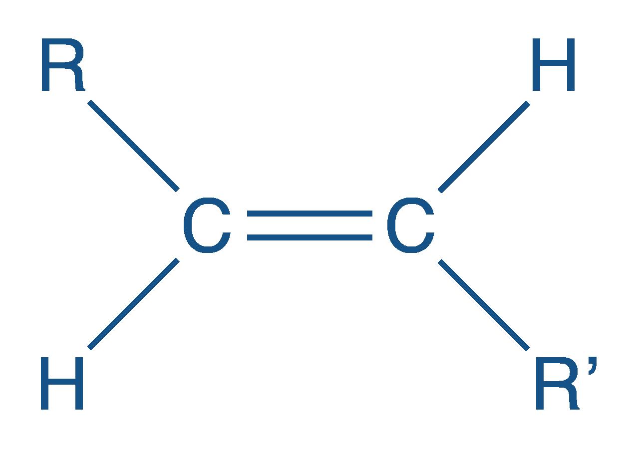 Formule semi-développée d'un isomère E