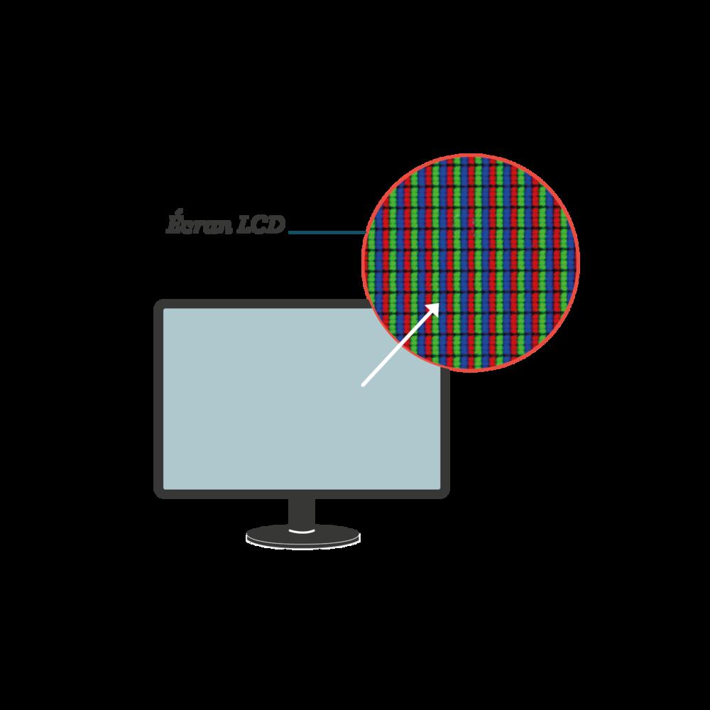 Écran LCD sciences première