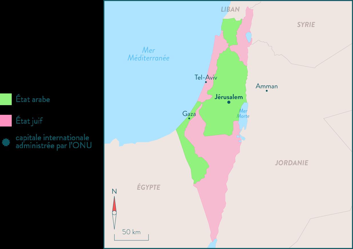 Plan de partage de la Palestine, 1947